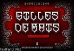 Gilles De Rais Font