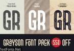Grayson Font Pack 4788741