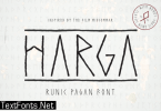 Harga Font