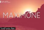 Maximone Font