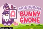 Monogram Bunny Gnome Font