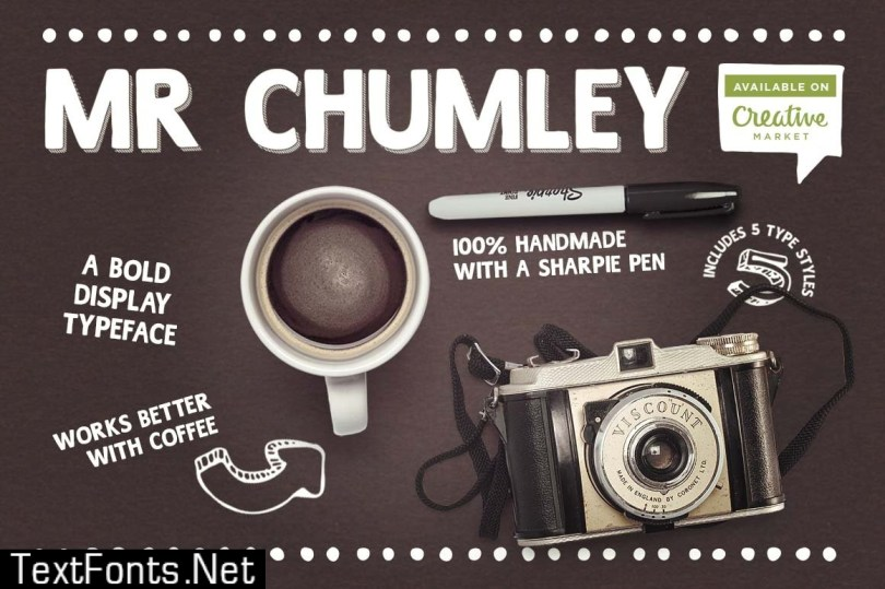 Mr Chumley font 560188