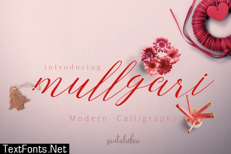 Mullgari Script 528355