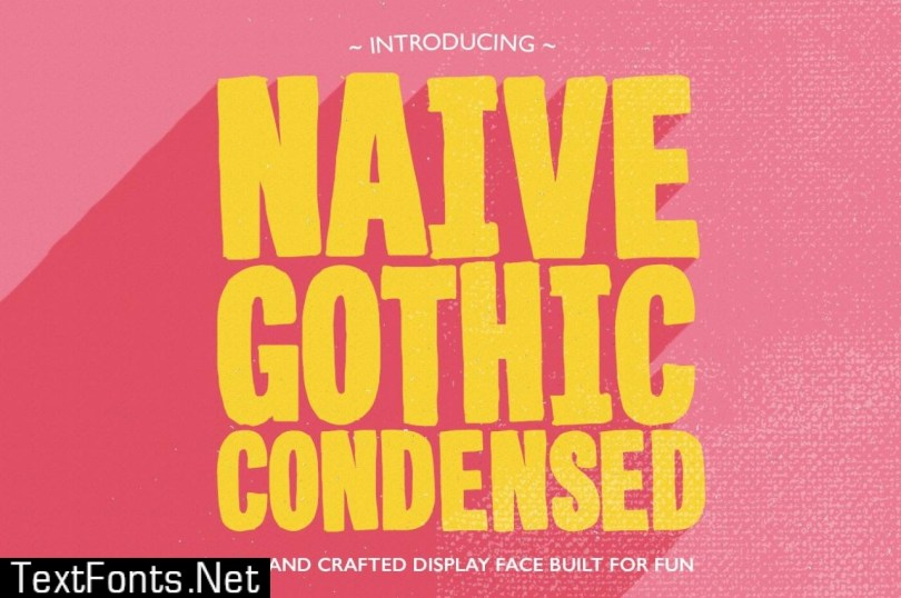 Naive Gothic Condensed 486387