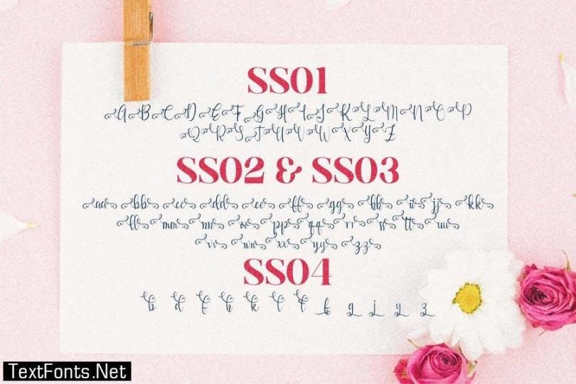 Qayla Script Font LS