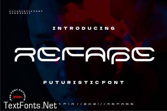 Refage Font