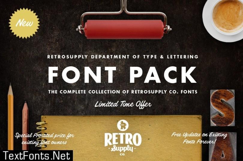RetroSupply Font Pack 465423