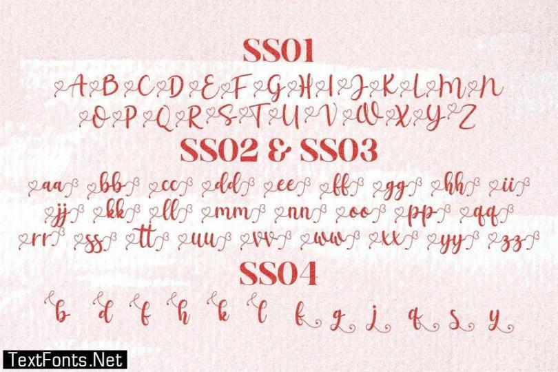 Salista Script Font LS