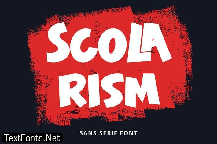 Scolarism - Sans Serif Font