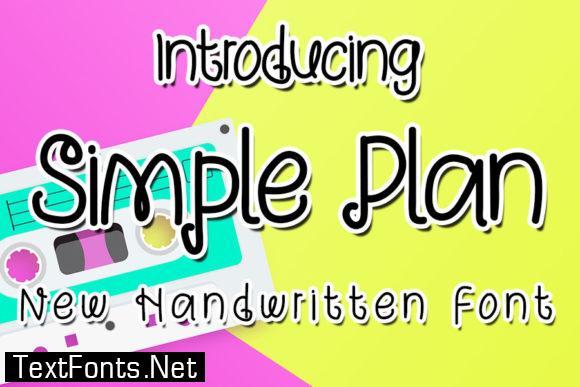 Simple Plan Font