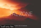 Talzone Font