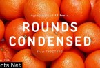 TT Rounds Condensed Font Family