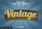 Vintage 3D Text Effect U3LHDDF