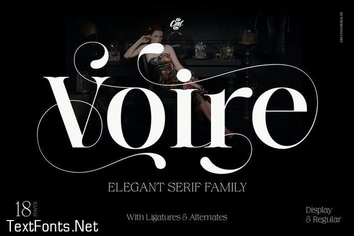 Voire - Elegant Beauty Serif Family
