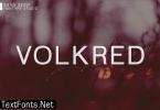 Volkred Font