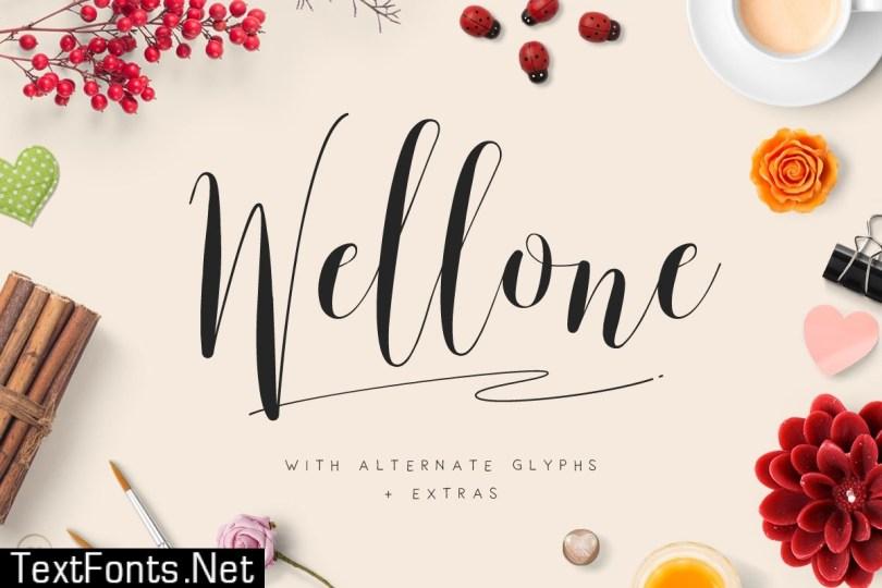 Wellone Font