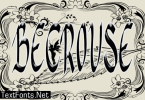 Becrouse Font