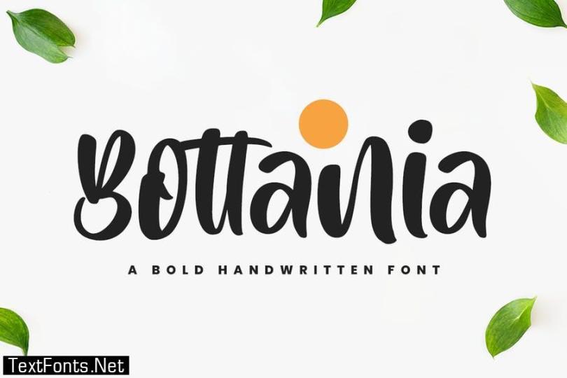 Bottania - Bold Font