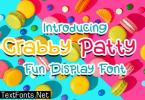 Crabby Patty Font