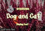 Dog and Cat Font