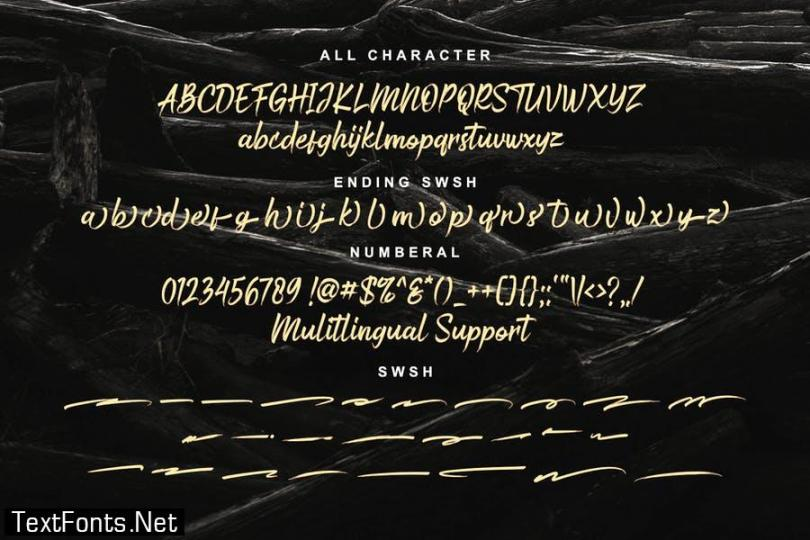 DS Bustered – Handbrush Typeface
