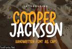 DS Cooper Jackson - Playful Typeface
