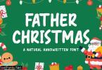 Father Christmas - Natural Handwritten Font