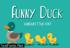 Funny Duck Font