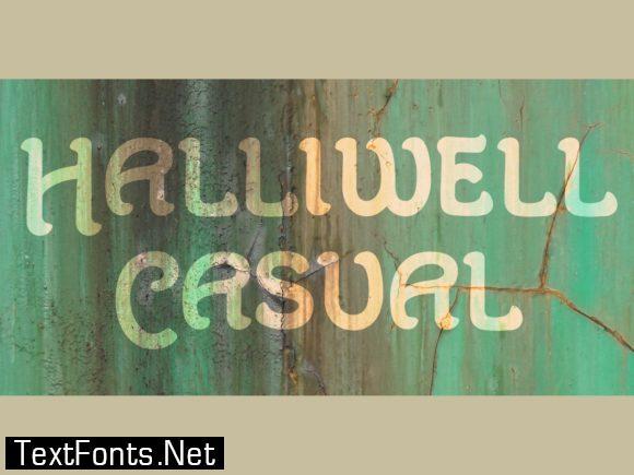 Haliwell Casual Font