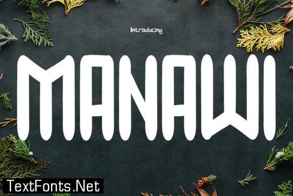 Manawi Font