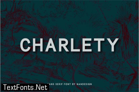 Title Charlety Font