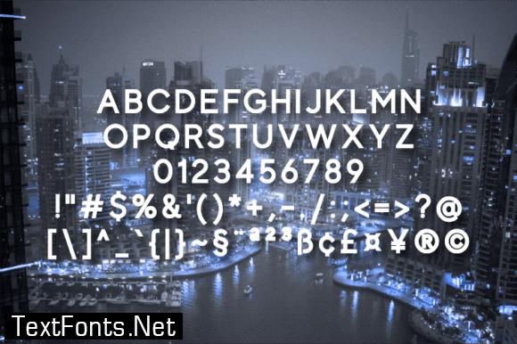 Title Montale Font