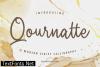 Title Qournatte Font