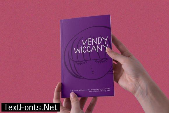 Title Vendy Font