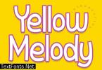 Yellow Melody Font