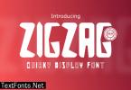 Zigzag Font