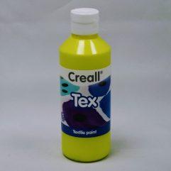 Textielverf en meer Creall Tex 250ml 01 geel textielverf