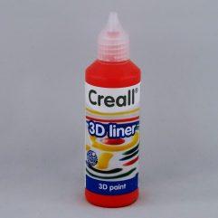 Textielverf en meer Creall 3D liner 04 rood 80ml