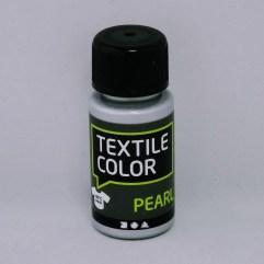 Textielverf en meer Textile Color Pearl zilver 50ml