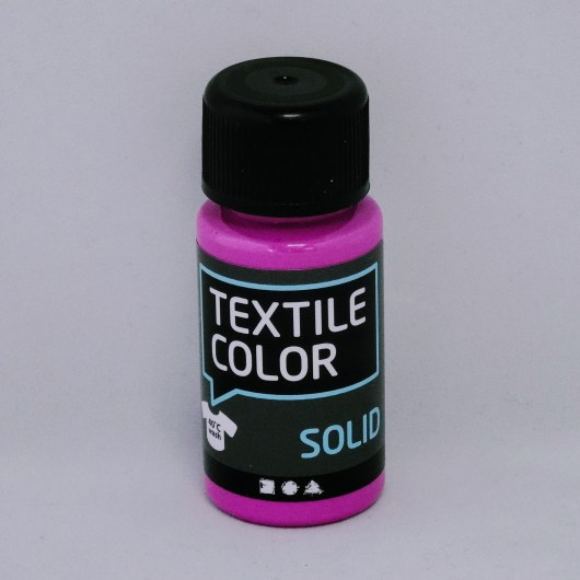 Textielverf en meer Textile Color Solid fuchsia 50ml