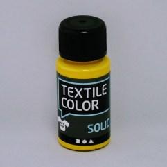 Textielverf en meer Textile Color Solid geel 50ml
