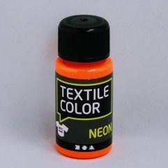 Textielverf en meer Textile Color Neon oranje 50ml