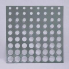 Textielverf en meer stencil 15x15cm dots