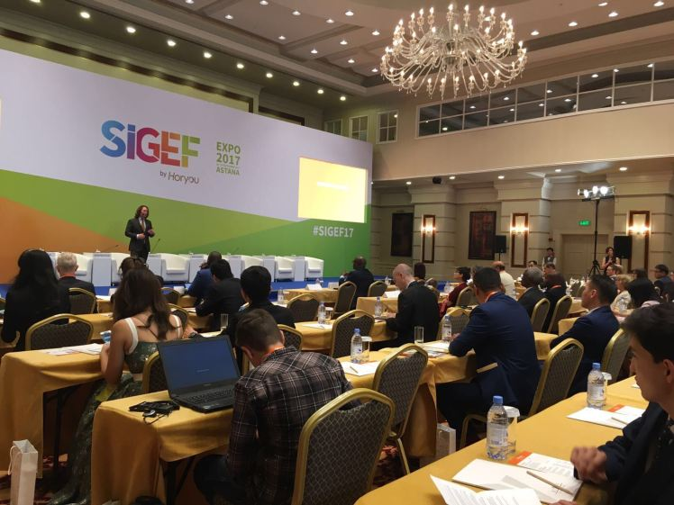 SIGEF 2017 - opening ceremony Yonathan Parienti