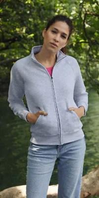 sweat shirt femme zip