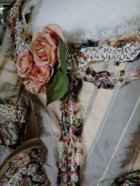 Georgiana Duchess Of Devonshire Bath Park Day Dress Detail