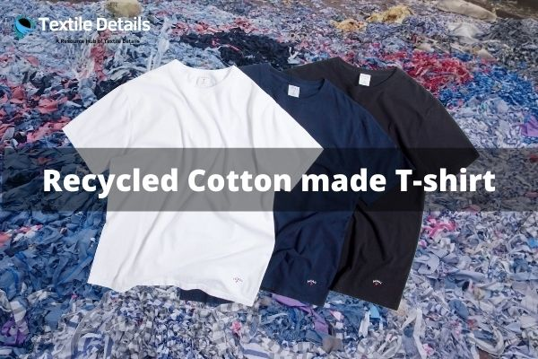 Recycled Cotton made T-shirt