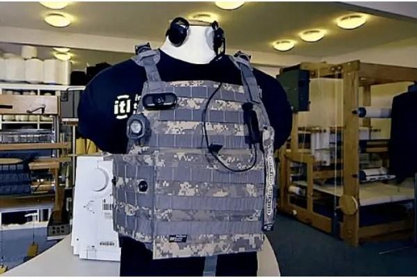smart GWTM bullet proof vest