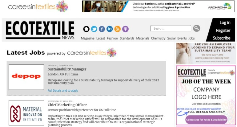 Best Textile Websites: Eco Textile News