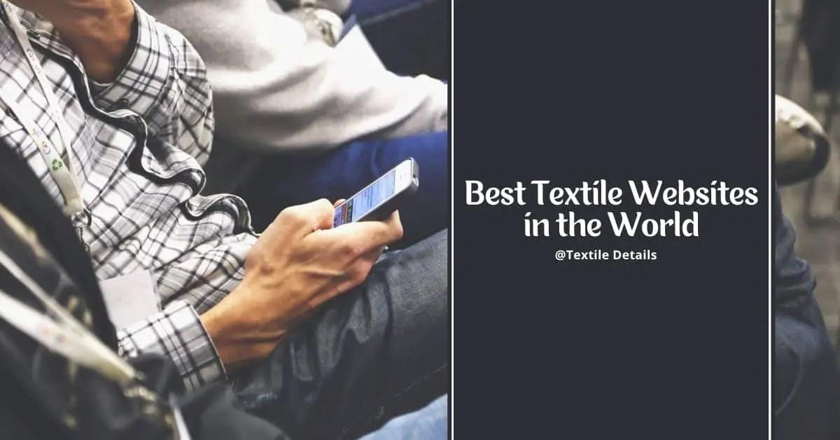 Best Textile Websites